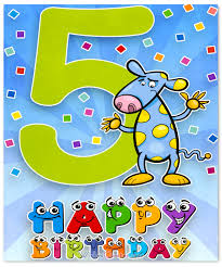 happy 5th birthday wishes for 5 year old boy or
