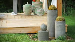 how to build an outdoor zen garden water fountain youtube