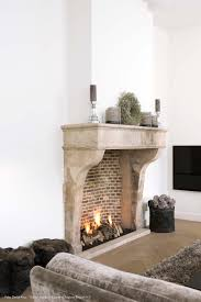 fireplaces bricks and brick on pinterest shelves inserted into a