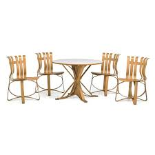 Frank Gehry Outdoor Furniture by Face Off Table And Four Ribbon Chairs 5 Works By Frank Gehry On Artnet