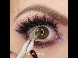 ttdeye colored contacts crystal ball yellow green