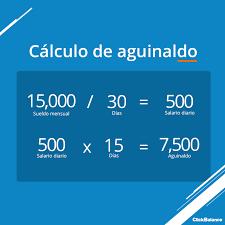 cmo calcular el salario diario integrado con sueldo aprende cómo se calcula el aguinaldo 2017