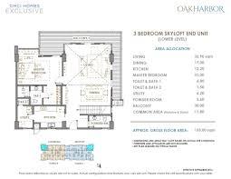naia terminal 1 floor plan oak harbor residences dmci quality homes