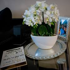 the do it yourself lady home decor with orchid plant from hedgescapes