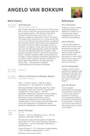 Warehouse Management Resume Sample by Shift Manager Resume Samples Visualcv Resume Samples Database