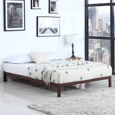 Metal Platform Bed Frame Home Usa Modern Metal Platform Bed Frame Reviews Wayfair