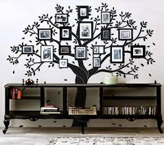 imagenes de arboles genealogicos buscar con google decoracion tree wall decal photo frame decal by newpoint on etsy