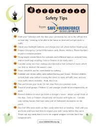 halloween safety tips safety training industrial safety classes safety courses