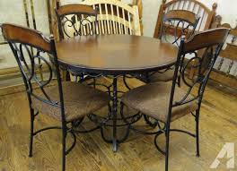 Rod Iron Dining Room Set Unique Design Wrought Iron Dining Table Interesting Ideas Wrought