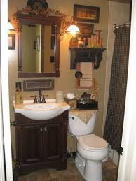 Country style bathrooms with character and fort