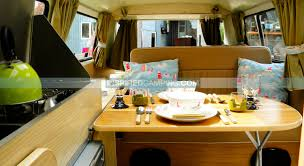 volkswagen van interior glamping in a campervan cool camping u0026 glamping site