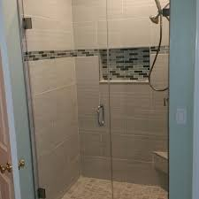 Shower With Door Frameless Shower Doors Custom Glass Shower Doors Atlanta Ga