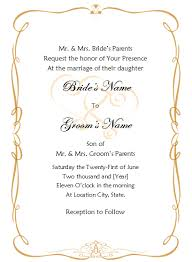 wedding invitation templates word blueklip com