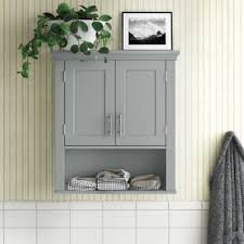 kitchen wall cabinets narrow somerset 22 81 w x 24 5 h x 7 88 d wall mounted bathroom cabinet
