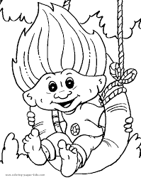 troll u0026 giant color page coloring pages for kids fantasy