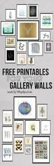roundup free printables for gallery walls gallery wall free a roundup of fun trendy and beautiful free printables for gallery walls from flamingoes