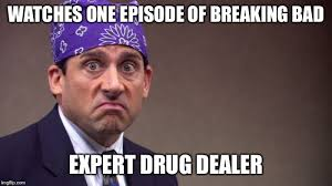 Mike Breaking Bad Meme - image tagged in prison mike imgflip