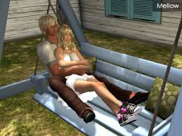 second life marketplace couple porch swing type b texture