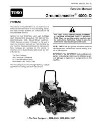 02097sl pdf groundsmaster 4000 d model 30410 rev e dec 2007