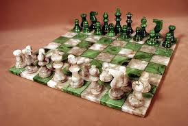 chess board buy amazon com worldwise imports green and grey alabaster chess set