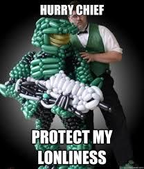 Funny Halo Memes - halo balloon nerd memes quickmeme