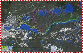 Yukon River Map Loop Walking Trails In Whitehorse
