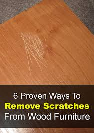 6 proven ways to remove scratches from wood furniture wood