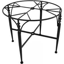 Wrought Iron Dining Room Tables Wrought Iron Dining Table Base