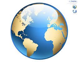 World Map Icon by Photoshop World Globe Icon Psdgraphics