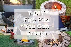 Make A Firepit 7 Diy Pits You Can Build Blissfully Domestic