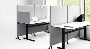 open office desk dividers softline acoustic desk screen partition and room divider