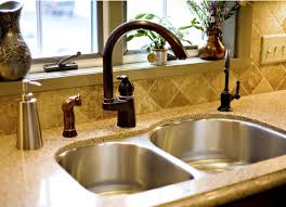 moen bronze kitchen faucets bronze faucet with stainless sink kitchen faucets
