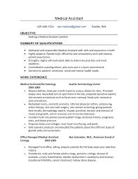 medical assistant objective for resume bilingual recruiter resume
