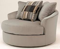 Swivel Chair Cushion by Furniture Beautiful White Grey Oversized Swivel Chair With