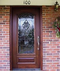 front glass doors for home front doors beautify your exterior house with decorative beveled