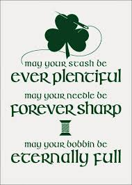the inspired wren free printable fabricated irish sewing blessing