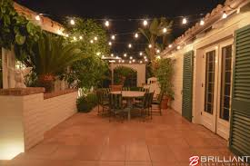 Edison Patio Lights Market Lights Patio Area Backyard Brilliant Event Lighting