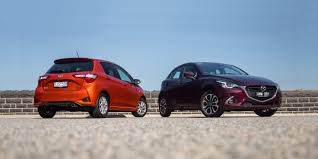 toyota yaris v mazda 2 comparison photos 1 of 54