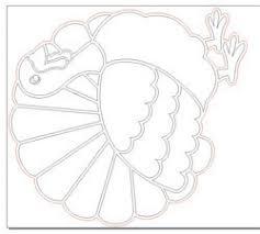 laser cut turkey inlay decoration