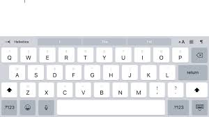 email keyboard layout iphone how to use ios 11 s new ipad keyboard and uninstall it if you hate it