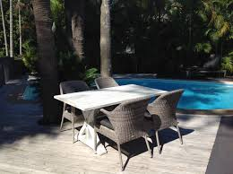 Wicker Look Patio Furniture by Is This The Best Outdoor Table In Australia Outdoor Elegance