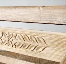 Java Bench Java Bench Carved Large Whitewash Xx U2013 Originals Furniture