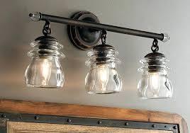 Bathroom Vanity Light Shades Cool Industrial Vanity Light Fixtures Shop 3 Light Antique Pewter