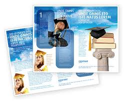 brochure design templates for education http www poweredtemplate brochure templates education