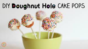 cake pops hack diy doughnut holes cake pops youtube