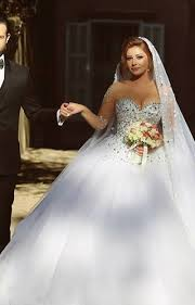 ball gown wedding dress with bling biwmagazine com