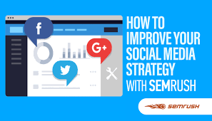 how to improve your social media strategy with semrush