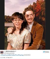 This Could Be Us But Meme - awkward glasses couple this could be us but you playing know