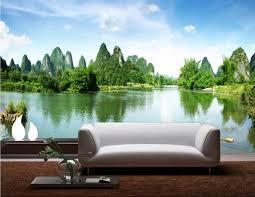 d oration chambre peinture 3d chambre papier peint personnalisé mural guilin paysage naturel