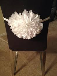 Paper Chair Covers Giant Paper Flower Wedding Chair Flower Wedding Decoration Wedding